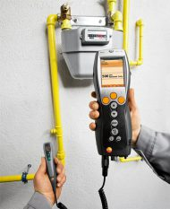 Анализатор дымовых газов Testo 330-1 LL с Bluetooth — базовый комплект (0563 3328)