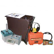 Портативная электротехническая лаборатория для испытания и поиска повреждений кабеля акустическим и индукционным методом Атлет КАИ-2.502 (ИДМ)