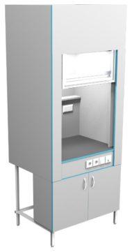 Шкаф вытяжной без сантехники ШВ НВК 900 ЭПОК (900x716x2200)